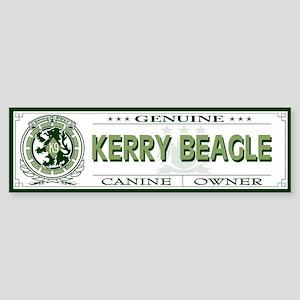 KERRY BEAGLE Bumper Sticker