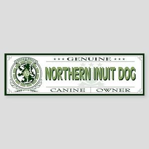 NORTHERN INUIT DOG Bumper Sticker