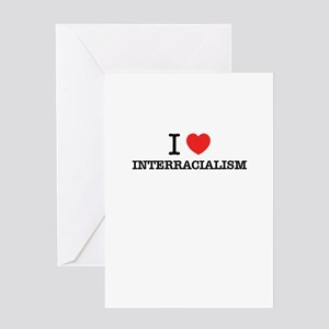 Interracial love greeting cards cafepress i love interracialism greeting cards m4hsunfo