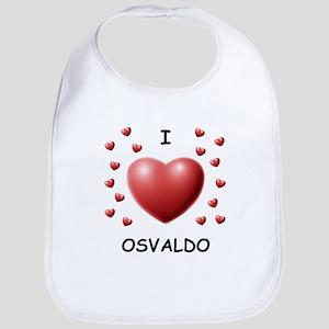 I Love Osvaldo - Bib