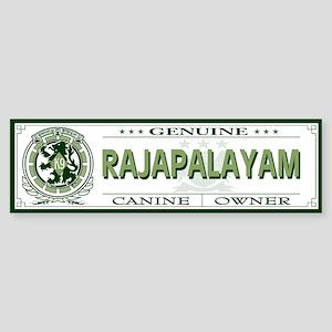 RAJAPALAYAM Bumper Sticker