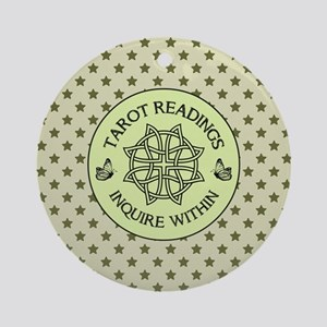 TAROT READER Round Ornament