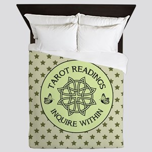 TAROT READER Queen Duvet