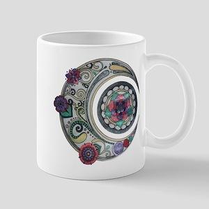 Spiral moon Mugs