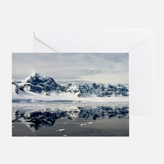Antarctic Grace Greeting Card