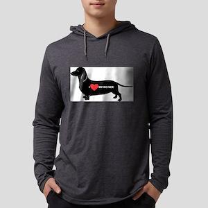 dachshund, I love my weiner Long Sleeve T-Shirt