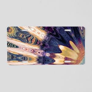 Boho Abstract Aluminum License Plate
