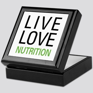 Live Love Nutrition Keepsake Box