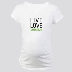 Live Love Nutrition Maternity T-Shirt
