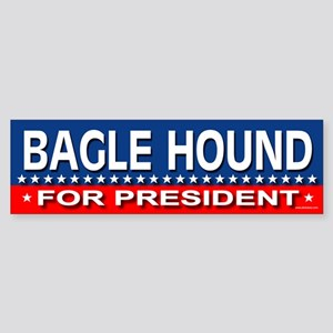 BAGLE HOUND Bumper Sticker
