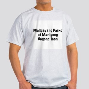 Maligayang Pasko Light T-Shirt