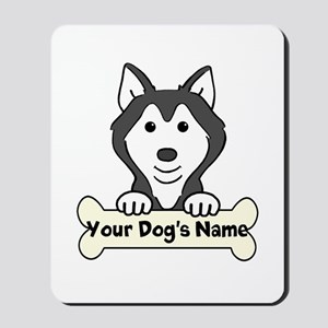 Personalized Husky Mousepad