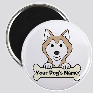 Personalized Husky Magnet