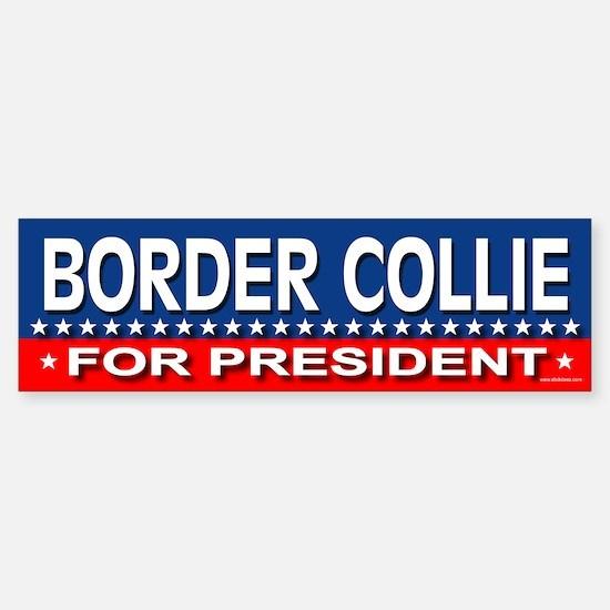 BORDER COLLIE Bumper Bumper Bumper Sticker