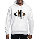 Brown & Black Hooded Sweatshirt
