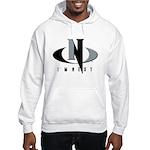 Grey & Black Hooded Sweatshirt