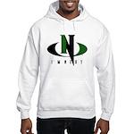 Green & Black Hooded Sweatshirt