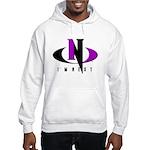 Purple & Black Hooded Sweatshirt
