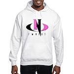 Pink & Black Hooded Sweatshirt