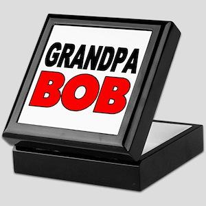GRANDPA BOB Keepsake Box