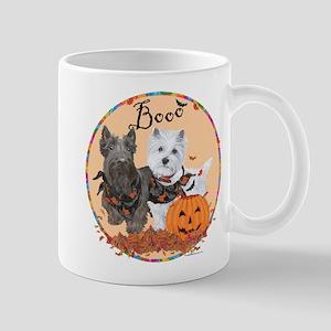 Scottie Westie Halloween Mug