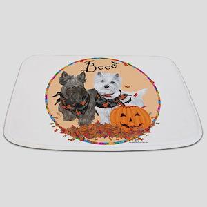 Scottie Westie Halloween Bathmat