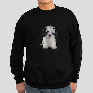 Shih Tzu (bw) pup Sweatshirt