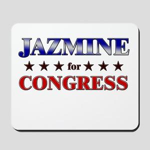 JAZMINE for congress Mousepad