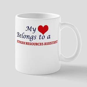 My heart belongs to a Human Resources Assista Mugs