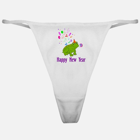 New Years Frog Classic Thong