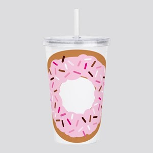 Pink Sprinkles! Acrylic Double-wall Tumbler