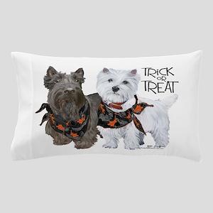 Scottie Westie Halloween Pillow Case