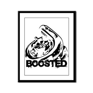 Boosted Framed Panel Print