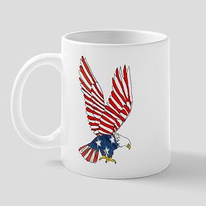 Patriotic Eagle Mug