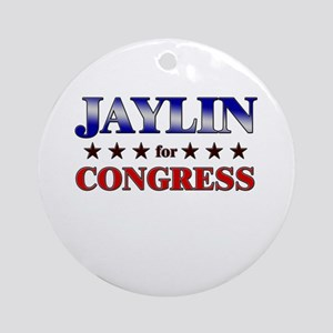 JAYLIN for congress Ornament (Round)