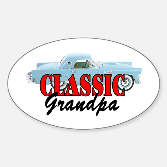 CLASSIC GRANDPA Oval Decal