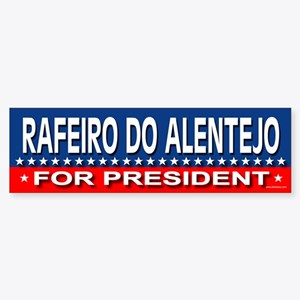 RAFEIRO DO ALENTEJO Bumper Sticker