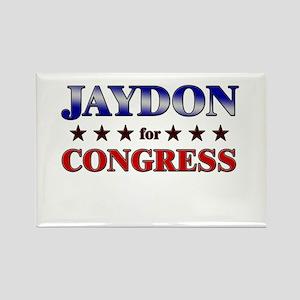 JAYDON for congress Rectangle Magnet
