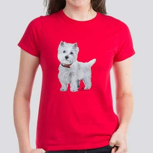 West Highland White Terrier Women's Dark T-Shirt