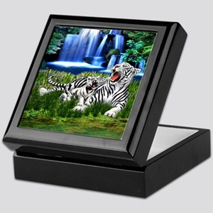Tiger Cub Learns to Roar Keepsake Box