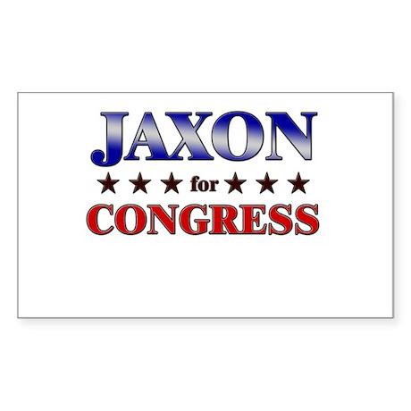 JAXON for congress Rectangle Sticker