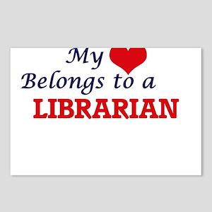 My heart belongs to a Lib Postcards (Package of 8)