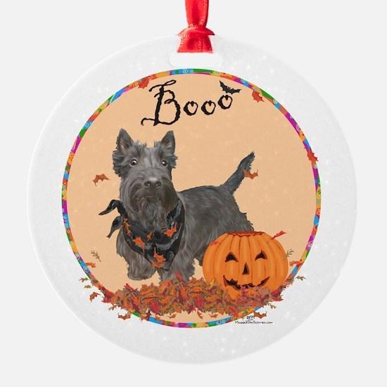 Scottie Dog Halloween Ornament