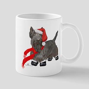 Scottie Santa Claus Mug