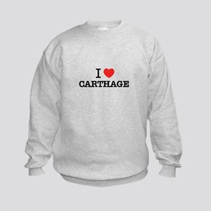 I Love CARTHAGE Kids Sweatshirt
