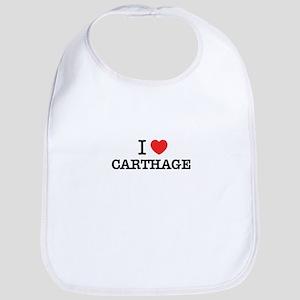 I Love CARTHAGE Bib