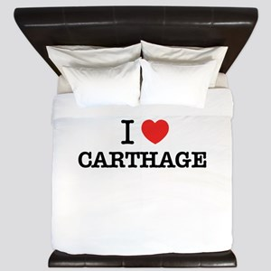 I Love CARTHAGE King Duvet