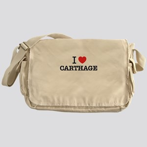 I Love CARTHAGE Messenger Bag