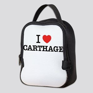 I Love CARTHAGE Neoprene Lunch Bag