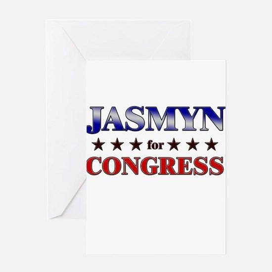 JASMYN for congress Greeting Card